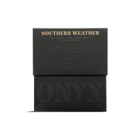 Onyx Coffee SOUTHERN WEATHER BLEND, 10 oz Whole Bean