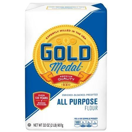 Gold Medal All-Purpose Flour, 2 lb Bag