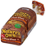 Nature's Own 100% Whole Wheat Bread Made with Honey, 16 oz