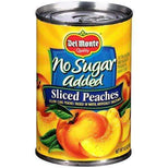 Del Monte No Sugar Added Sliced Yellow Cling Peaches, 14.5 oz