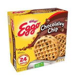 Kellogg's Eggo Chocolately Chip Waffles Easy Breakfast 29.6 oz 24 ct