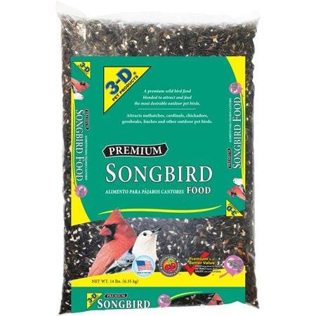 3-D Pet Products Premium Songbird Food, 14 Lbs - 2Pk