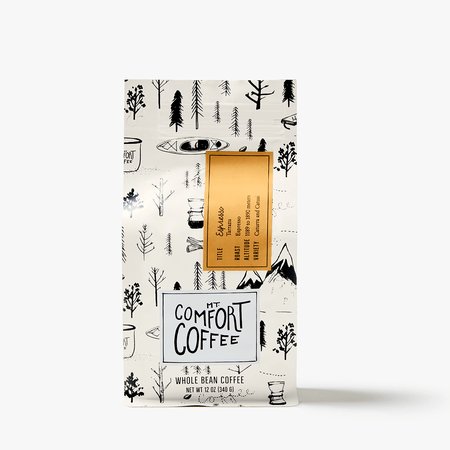 Mt. Comfort Coffee ESPRESSO ROAST, 12 oz.