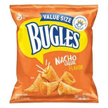 Bugles Nacho Cheese Flavor Crispy Corn Snacks, 14.5 oz