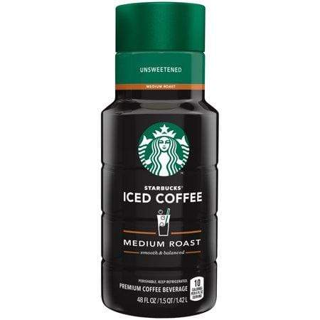 Starbucks, Unsweetened Iced Coffee, 48 Fl.-Oz.