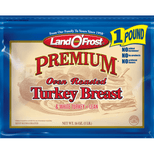 Land O'Frost Premium Oven Roasted Turkey Breast, 16 Oz.