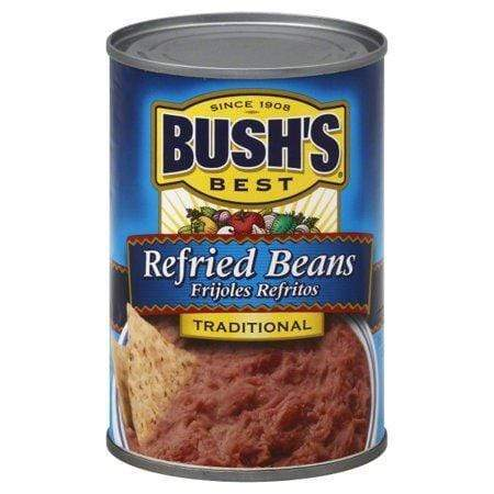 BUSH'S BEST Refried Beans Traditional, 16.0 OZ