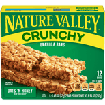 Nature Valley Oats 'N Honey Crunchy Granola Bar, 8.94 oz