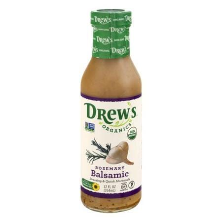 Drew's Organics Dressing & Quick Marinade Rosemary Balsamic