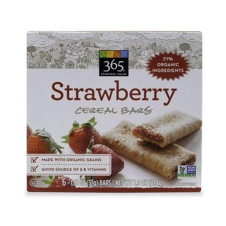 365 Strawberry Cereal Bar