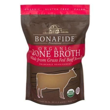 Bonafide Provisions Organic Bone Broth made from Grass Fed Beef Bones