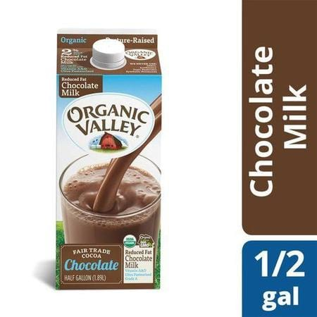 Organic Valley UHT Reduced Fat Chocolate Milk