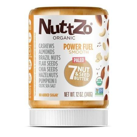 Nuttzo Organic Power Fuel Smooth 7 Nut & Seed Butter
