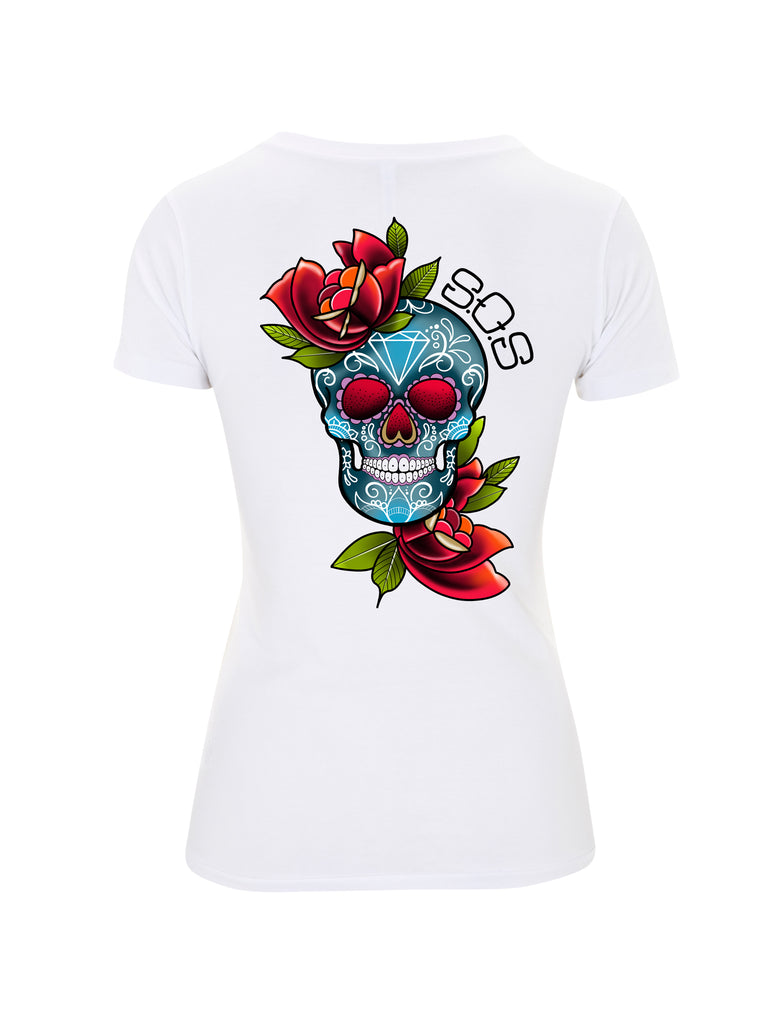 Candy Skull T shirt - save our souls clothing