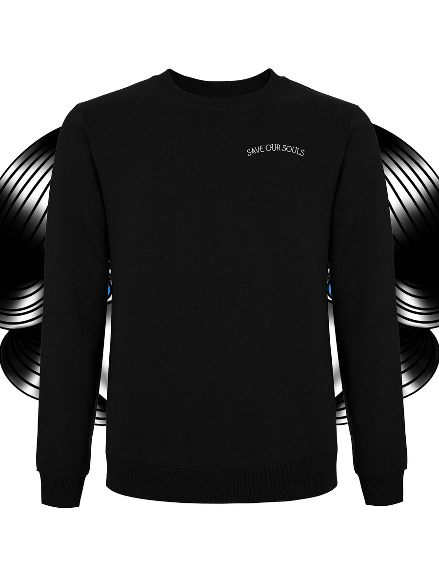 Crying Heart sweatshirt - Save our souls clothing