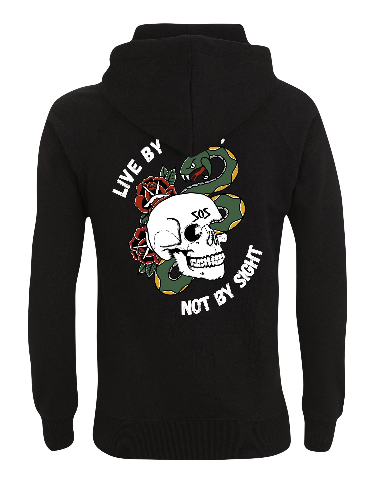 Live By faith Hoodie - Save Our Souls Clothing