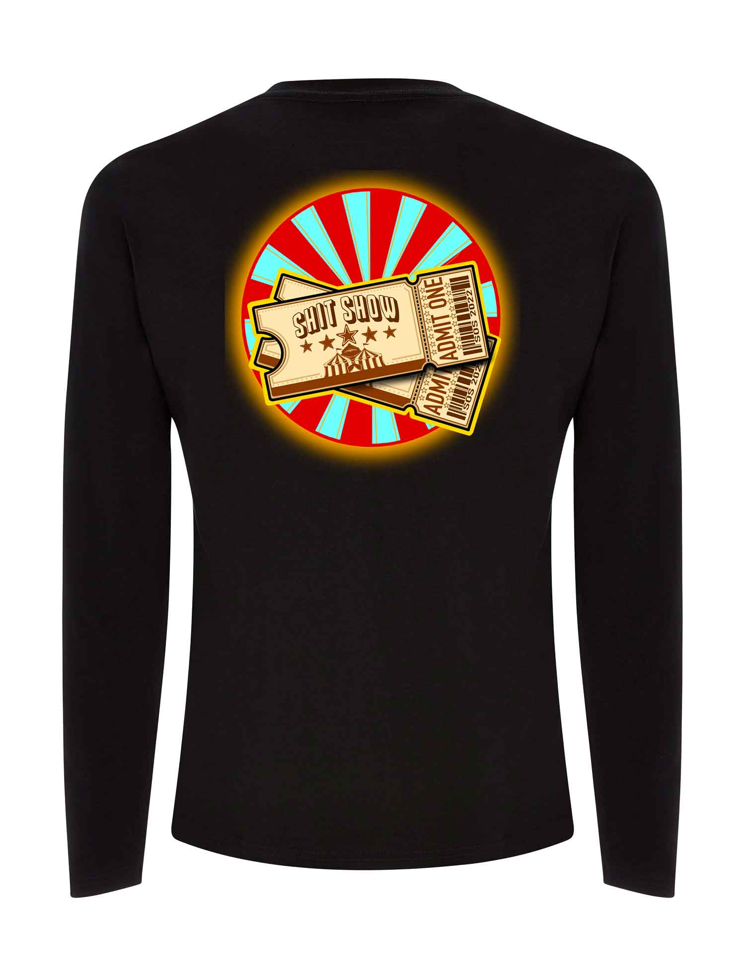 Love Is Blind Long Sleeve T Shirt - Save Our Souls Clothing