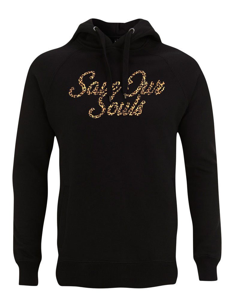SOS Leopard Print Hoodie - Save Our Souls Clothing