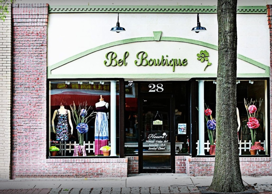 Bel Boutique Storefront Womens Clothing Store Dover Delaware