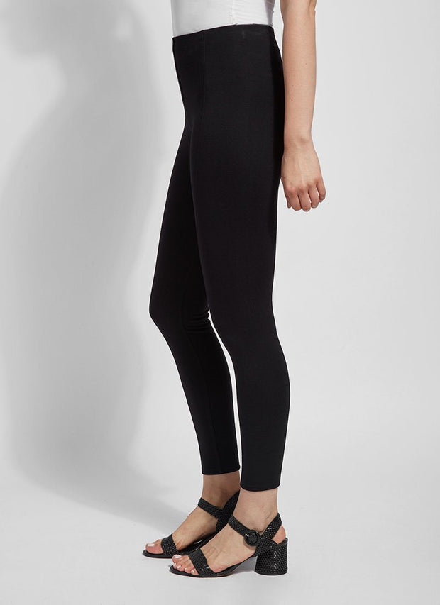 Seam Ponte Legging (black)