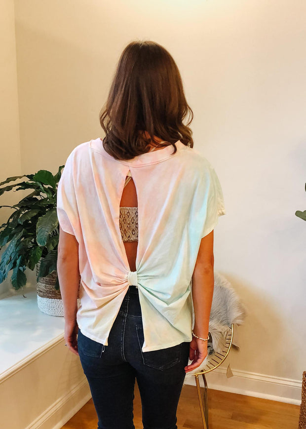 The Everly Open Back Top