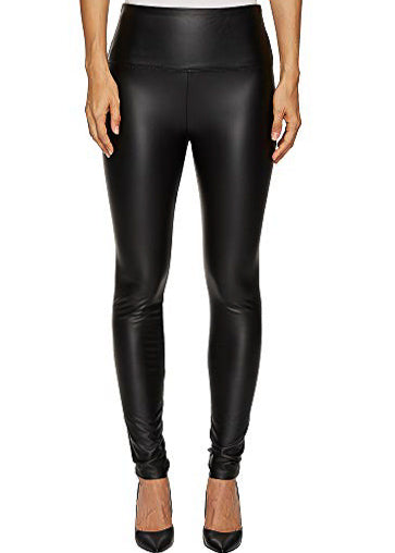 The Vegan Leather Leggings