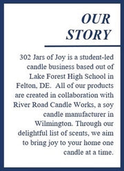 302 Jars of Joy Candles