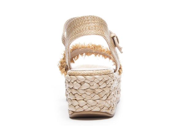 The Ziba Straw Wedges