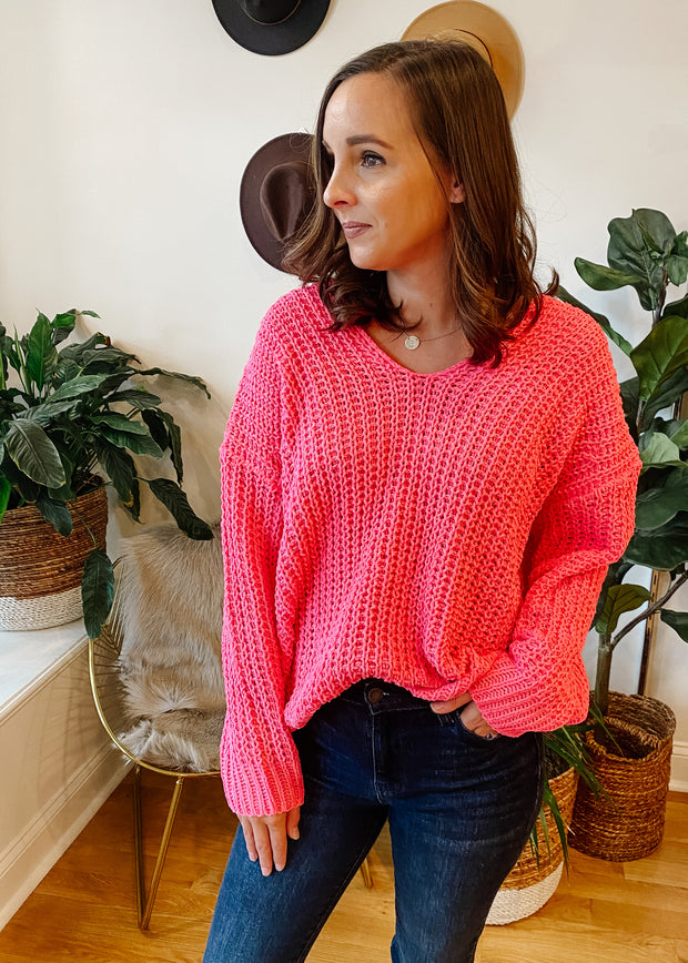 The Riley Sweater (pink)