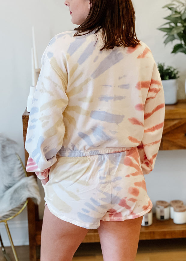 The Britton Tie Dye Pullover