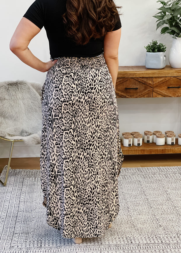 Cheetah Maxi Skirt