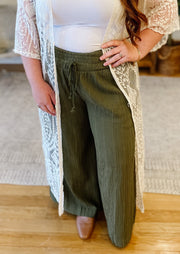 The Elsie Pleated Pants