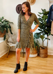 The Juno Faux Wrap Dress