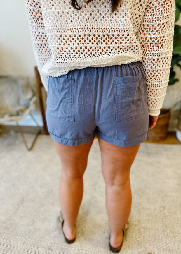 The Perfect Everyday Shorts (blue)