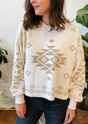 The Lea Tribal Sweatshirt