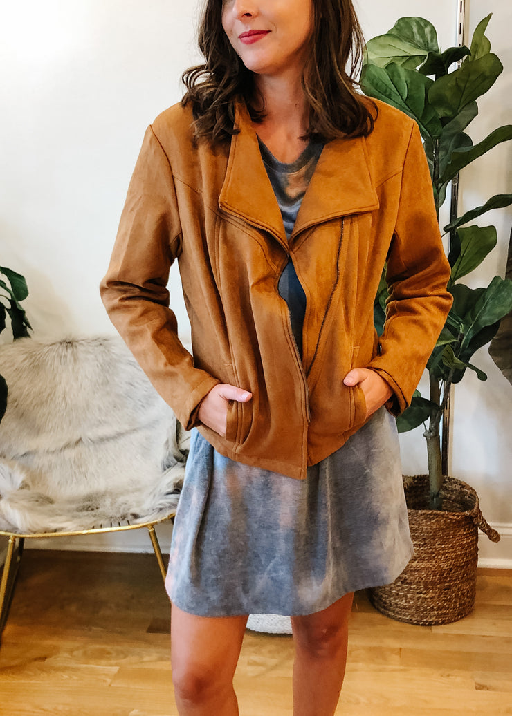 The Sawyer Suede Jacket