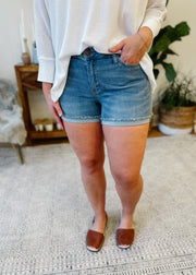 Kelly Cuffed Hem Shorts