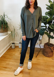 The Oaklyn Thermal Top (sage)