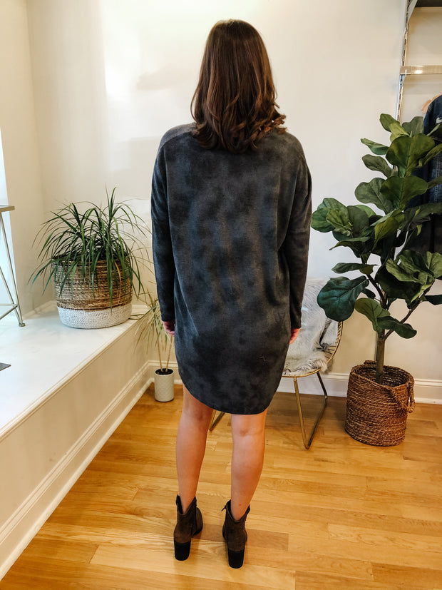 The Grove Thermal Dress (black)