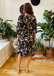 The Elle Floral Tiered Dress