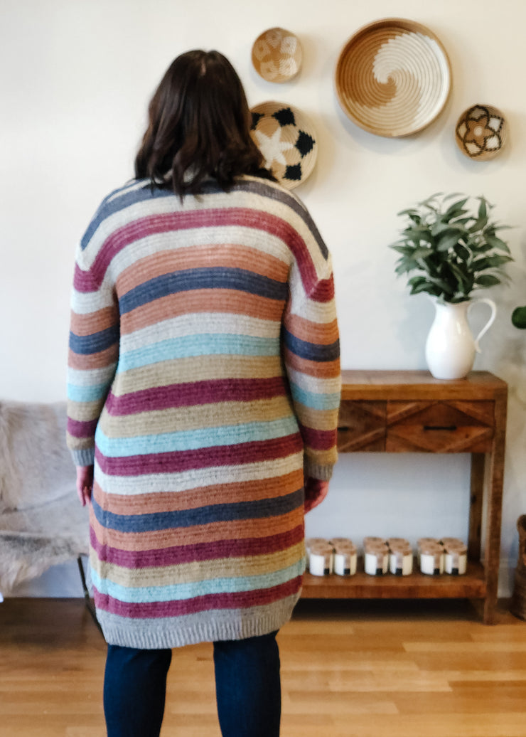 The Cecilia Colorblock Cardi