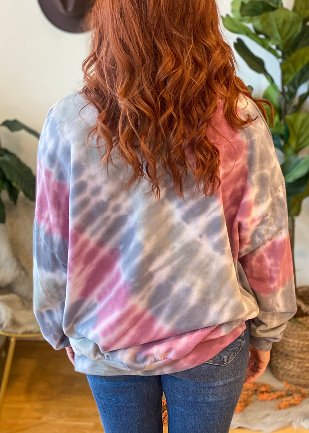 The Jade Tie Dye Sweatshirt