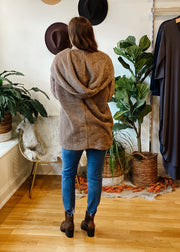 The Owen Cozy Fur Jacket (taupe)