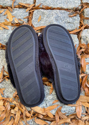 The Cozy Feels Slippers (black)