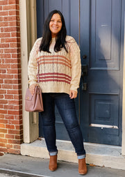 The Ava Cableknit Sweater
