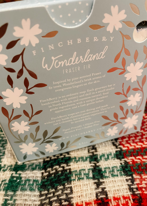 Finchberry Wonderland Boxed Soap
