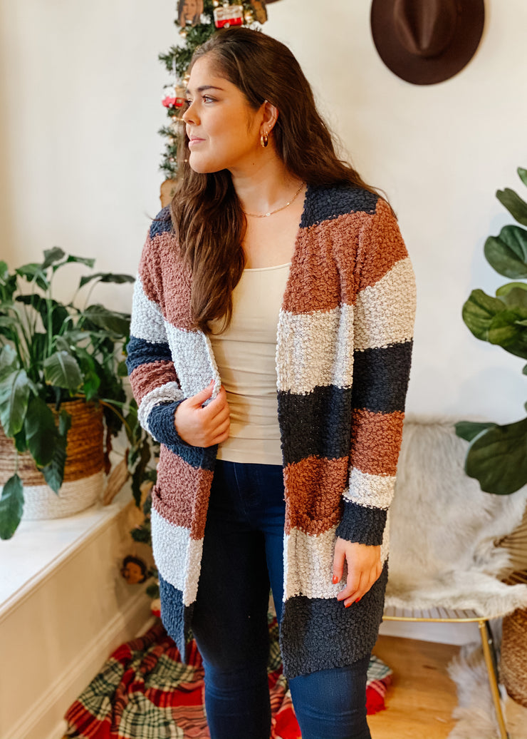The Ezra Striped Cardi