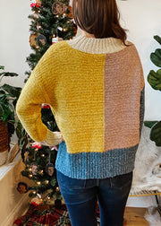 The Bella Colorblock Sweater