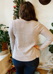 The Lavender Long Sleeve Top