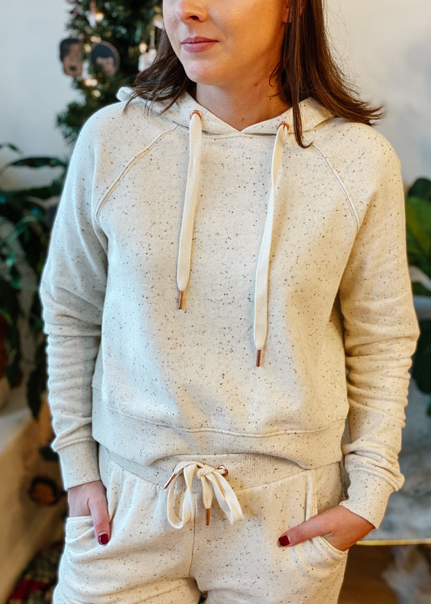 Faith Speckled Hoodie (natural)
